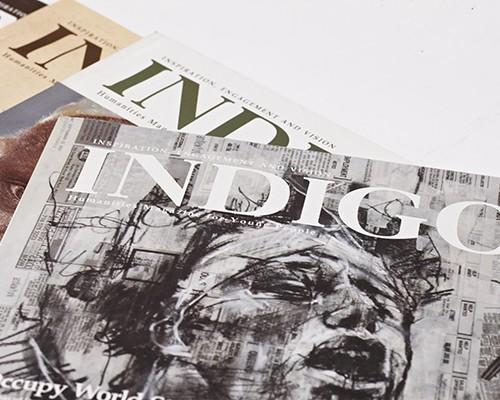 Humanities Magazine 'Indigo'